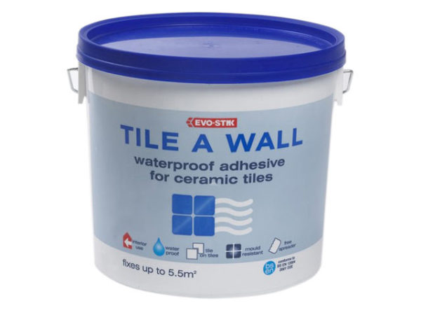 Waterproof Wall Tile Adhesive 5 Litre