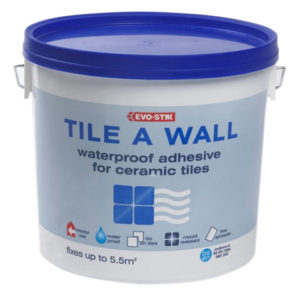 Waterproof Wall Tile Adhesive 10 Litre