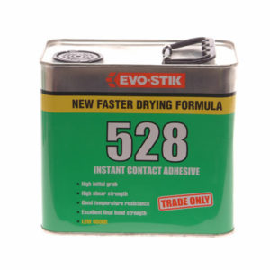 528 Instant Contact Adhesive 2.5 Litre