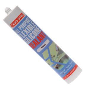 112872 All Purpose Flex Silicone Sealant Black C20