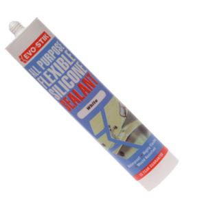 112902 All Purpose Flex Silicone Sealant White C20