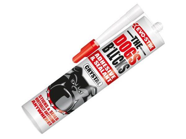 The Dog's B*ll*cks Multipurpose Adhesive & Sealant Crystal Clear 290ml