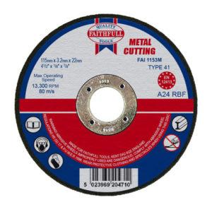 Metal Cut Off Disc 115 x 3.2 x 22.23mm