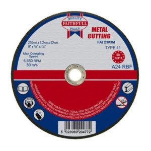 Metal Cut Off Disc 230 x 3.2 x 22.23mm