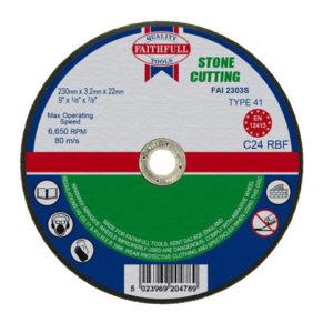 Stone Cut Off Disc 230 x 3.2 x 22.23mm