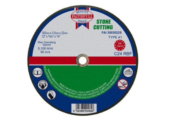 Stone Cut Off Disc 300 x 3.5 x 22.23mm
