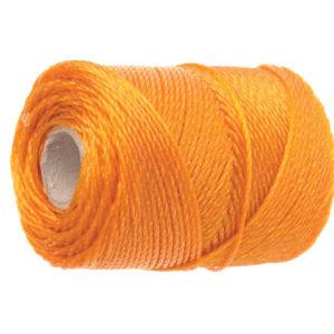 3100 Polyethylene Brick Line 100m (328ft) Orange