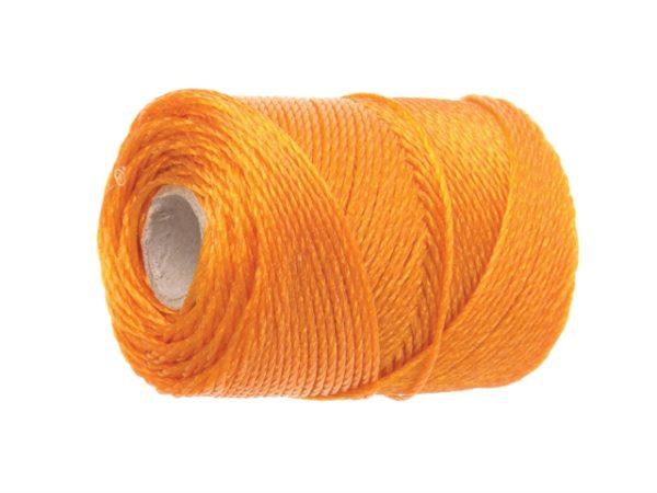 3250 Heavy-Duty Polyethylene Brick Line 250m (820ft) Orange