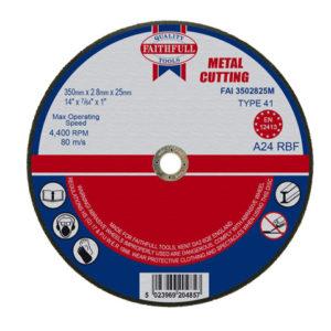 Metal Cut Off Disc 355 x 2.8 x 25.4mm
