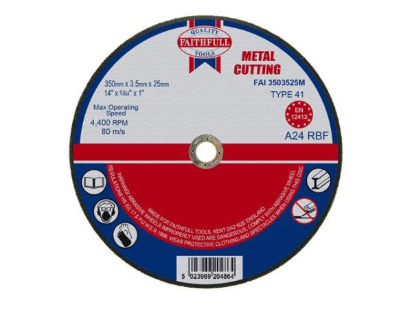 Metal Cut Off Disc 355 x 3.5 x 25.4mm