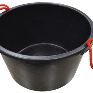 Builder's Bucket Black 40 litre (9 Gall)