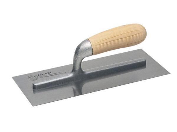 821 Plasterer's Trowel Wooden Handle 11 x 4.3/4in