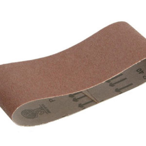 Cloth Sanding Belt 400 x 60mm Coarse (Pack of 3)