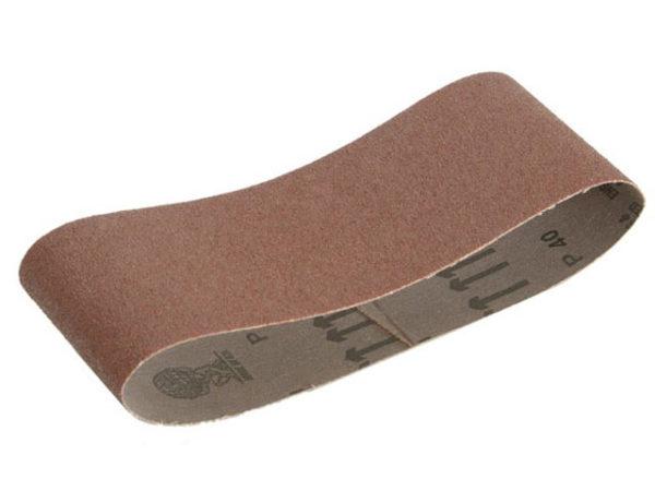 Cloth Sanding Belt 533 x 75mm Fine (Pack of 3)