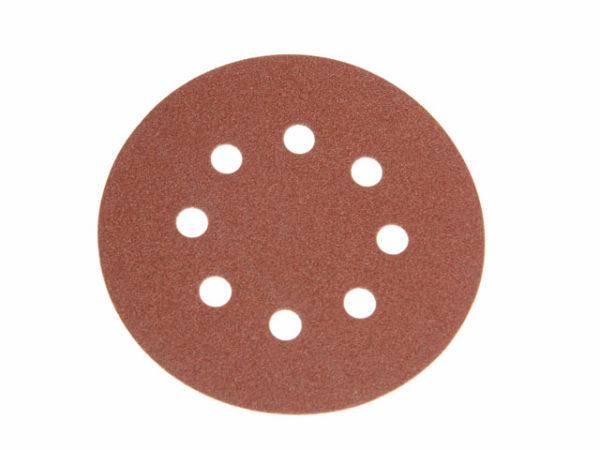 Hook & Loop Sanding Disc DID3 Holed 125mm x 120G (Pack 25)