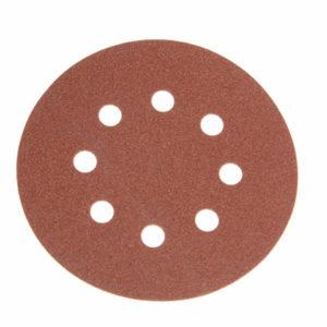 Hook & Loop Sanding Disc DID3 Holed 125mm x 40G (Pack 25)