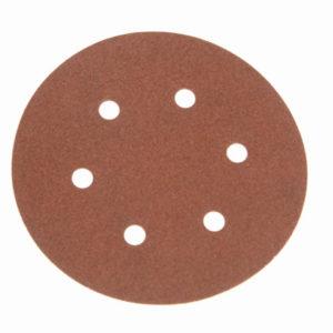 Hook & Loop Sanding Disc DID2 Holed 150mm x 120G (Pack 25)