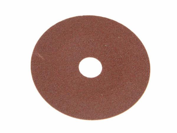 Fibre Backed Sanding Discs 178mm x 22mm 120G (Pack 25)
