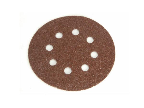 Hook & Loop Sanding Disc DID3 Holed 125mm Coarse (Pack 5)
