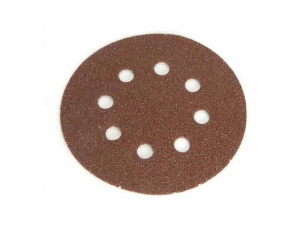 Hook & Loop Sanding Disc DID3 Holed 125mm Medium Fine (Pack 5)