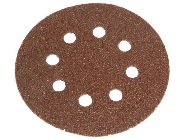 Hook & Loop Sanding Disc DID2 Holed 150mm Medium Fine (Pack 5)