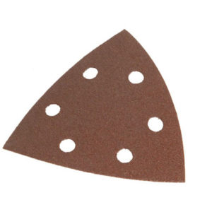 Delta Hook & Loop Sanding Sheets TR2 93mm Very Coarse (Pack 5)