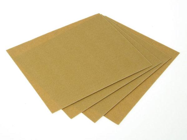 Glasspaper Sanding Sheets 230 x 280mm Grade 00 240G (25)
