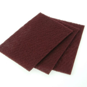 Hand Pad Maroon Very Fine 230 x 150mm (10)