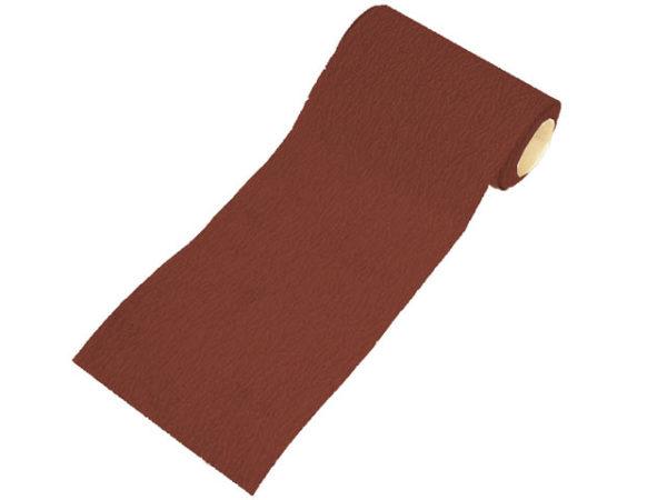 Aluminium Oxide Sanding Paper Roll Red Heavy-Duty 115mm x 10m 120G