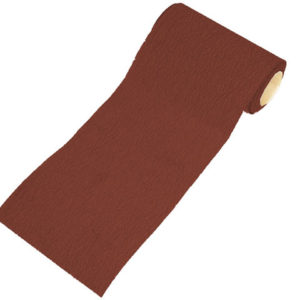 Aluminium Oxide Sanding Paper Roll Red 1m Hook & Loop Fine