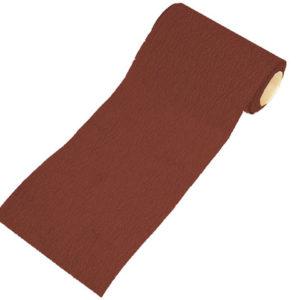 Aluminium Oxide Sanding Paper Roll Red 1m Hook & Loop Medium