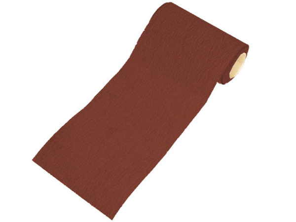 Aluminium Oxide Sanding Paper Roll Red Heavy-Duty 115mm x 50m 60G