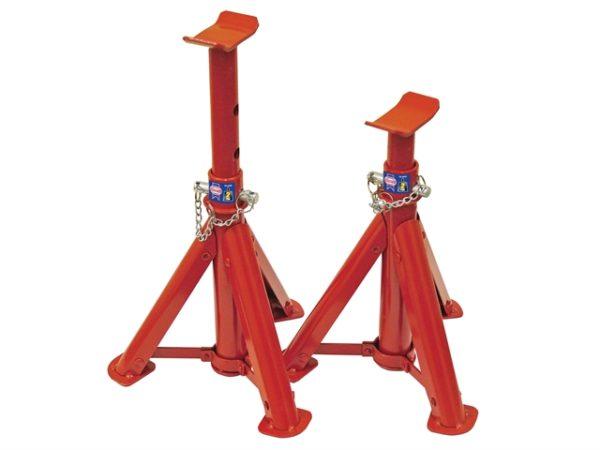 Folding Axle Stands 2 Tonnes (Pair)