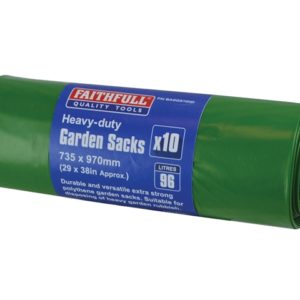 Heavy-Duty Strong Garden Sacks (10)