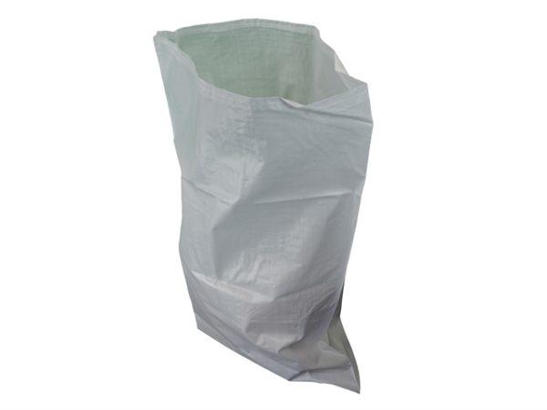 Woven White Rubble Sacks (5)