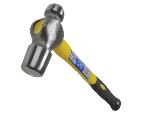 Ball Pein Hammer Fibreglass Shaft 1.36kg (3lb)