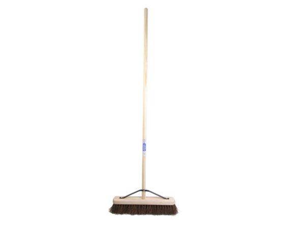 Stiff Bassine Broom 45cm (18in) + Handle & Stay