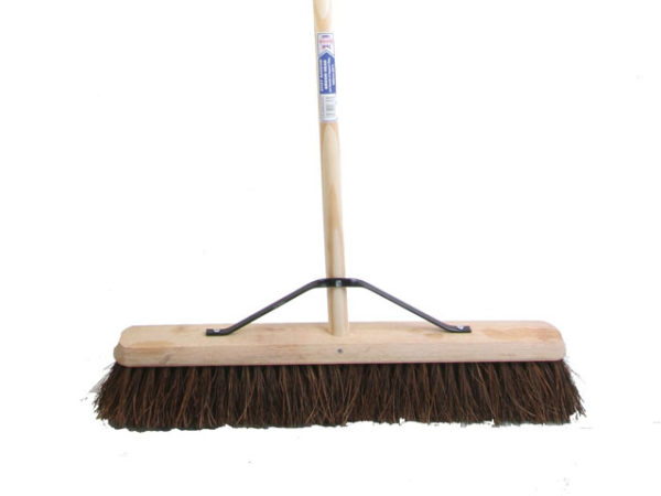 Stiff Bassine Broom 60cm (24in) + Handle & Stay