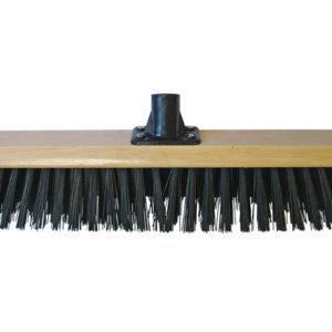Platform Broom Head Black PVC 45cm (18in) Threaded Socket