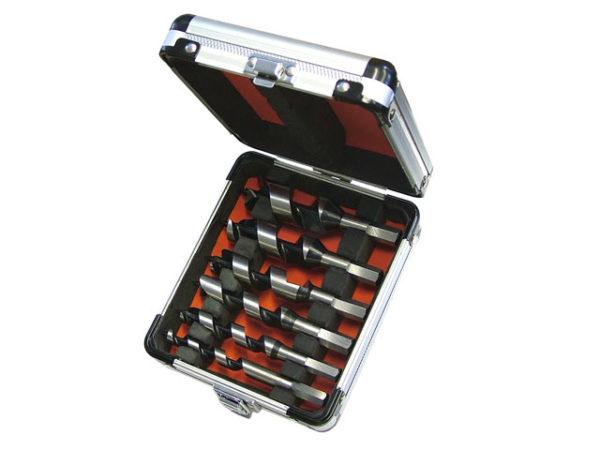 Stubby Combination Wood Auger Bit Set 6 Piece 10-25mm