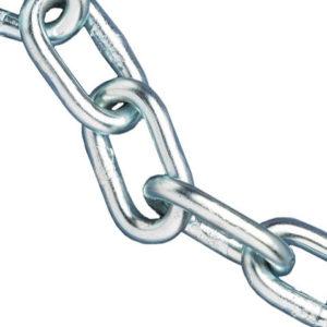 Zinc Plated Chain 3mm x 30m Reel - Max Load 80kg
