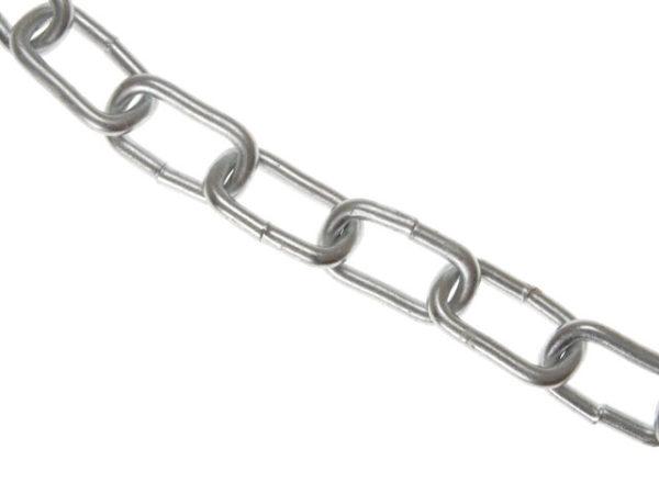 Zinc Plated Chain 6mm x 10m Box - Max Load 250kg