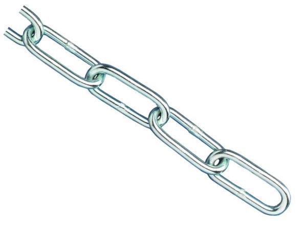 Zinc Plated Chain 3mm x 2.5m - Max Load 80kg