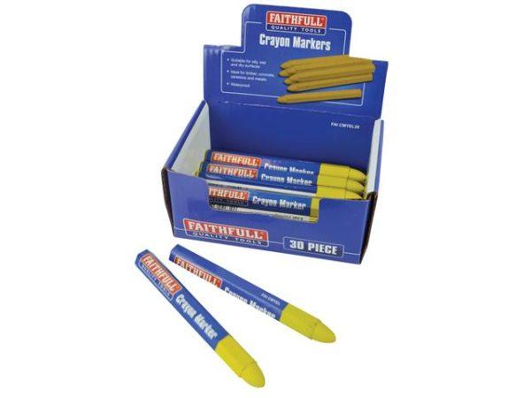 Crayon Marker Yellow (CDU of 30)