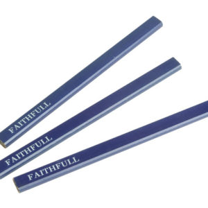 Carpenter's Pencils - Blue / Soft (Pack of 3)
