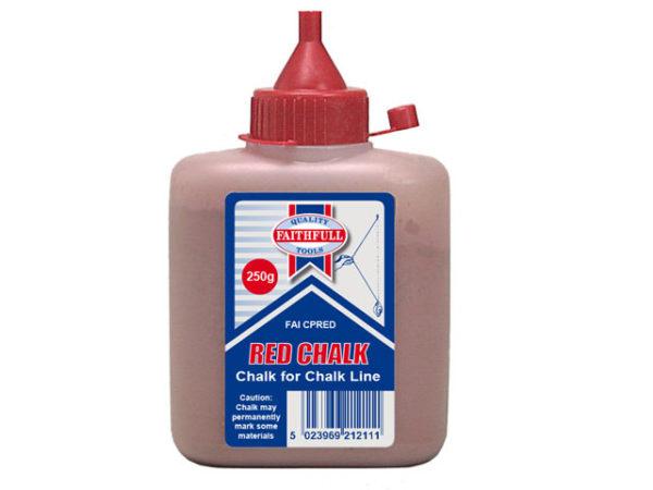 Chalk Powder Red 250g