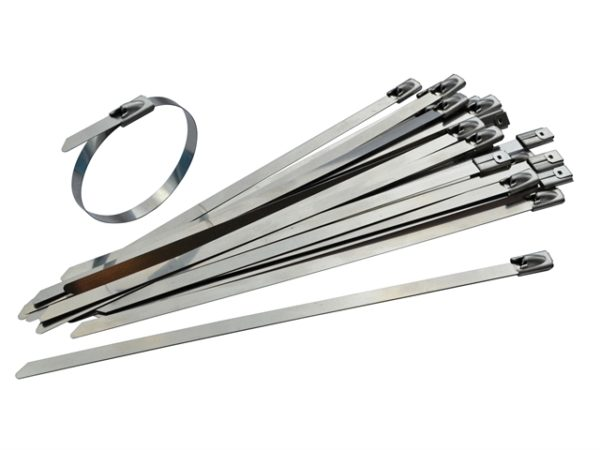 Stainless Steel Cable Ties 4.6 x 290mm (Pack 50)