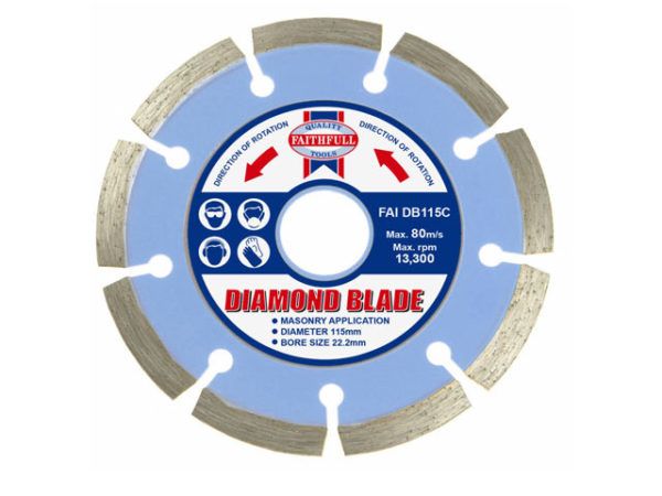 Contract Diamond Blade 115 x 22.2mm