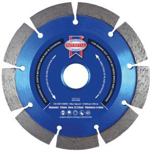 Mortar Raking Diamond Blade 115 x 22mm
