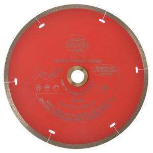 Diamond Tile Blade Continuous Rim 180 x 25.4mm